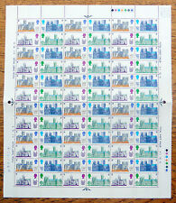 Gb 1969 Cathedrals (3) in Complete Sheets of 120 Folded New Price Fp7578
