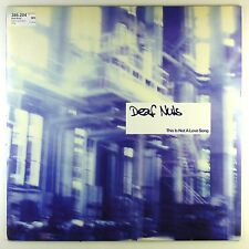 """12"""" LP-Deaf nuts-this is not a Love Song-m1096-Slavati & cleaned"""