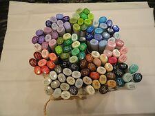 NEW lot 110 copic sketch markers all different color + bonus 4 fine nib ink pen