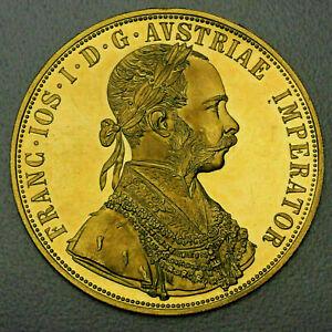 4 Dukaten Österreich Kaiserreich Franz Joseph I 1915 Gold