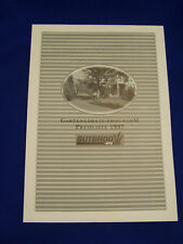 Original Druck Händler Preisliste Gartengeräte Programm Gutbrod 1997- Rarität