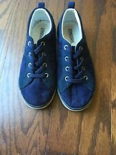 Boys Size 1 Navy Blue Shoes From Gymboree