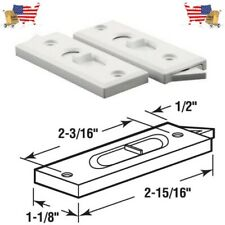 Prime-Line Products F 2627 Spring Loaded White Sliding Window Tilt Latch, 1-Pair