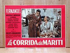 LA CORRIDA DEI MARITI fotobusta poster Le printemps l'automme et l'amour BR46