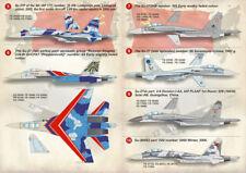 """Imprimé échelle 1/144 Sukhoi Su-27 Flanker"""" # 14413"""