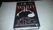 The King by J. R. Ward (2014, Hardcover) SIGNED 1st/1st