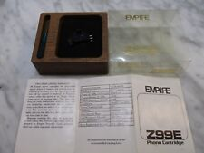 EMPIRE Z99E NEW OLD STOCK CARTRIDGE AND STYLUS IN SIMULATED WOOD DISPLAY CASE 1