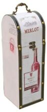 Merlot Wine Bottle Carrier - Perfect Gift! (Holds a standard size wine bottle)