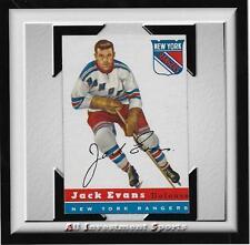1954 Topps JACK EVANS #14 EXMT *tough hockey card for set* DD17