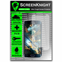 ScreenKnight Samsung Galaxy S6 Edge FRONT SCREEN PROTECTOR invisible shield