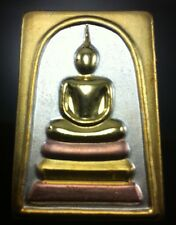 Pra Somdej Buddha Wat Rakang Brass Back Chin-na-bun-chorn Witchcraft Thailand