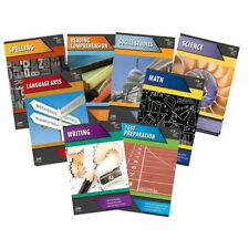 4th Grade Basic Skills 8-Subject Curriculum Common Core Workbook Homeschool 4