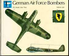 GERMAN AIR FORCE BOMBERS OF WWII, Volume 1 by Alfred Price - 1971 Edition
