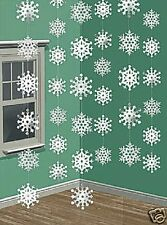 Snowflakes Winter Christmas Party Event Theatre Decor Drama Decoration