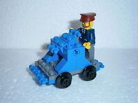 LEGO® Eisenbahn LEGO Eisenbahn Draisine + Figur für 4512, 7897, 7898, 7939
