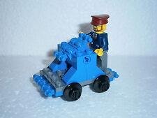 LEGO train LEGO ferroviaire draisine + personnage pour 4512,7897,7898,7938,7939