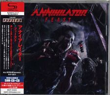ANNIHILATOR-FEAST-JAPAN SHM-CD BONUS DISC H75