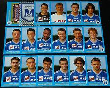 PANINI FOOT 96 SC MONTPELLIER HERAULT PAILLADE COMPLET FOOTBALL SAISON 1995-1996