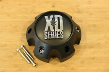 XD Series 796 797 798 Matte Flat Black 6 Lug Chevy Wheel Rim Center Cap 1079L145