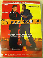Rush Hour DVD - SAME / NEXT DAY FAST FREE POST