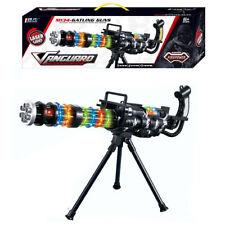 M134 Lumière Laser MITRAILLEUSE GATLING JOUET Lumières, Sound & Support (B)