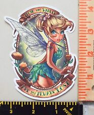 Disney Tinkerbell UV Proof Vinyl Sticker~Pinup~Fairy~Tink