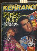 Kerrang #129 Don Spitz & Scott Ian (Anthrax)   New Sealed MBX94