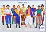 Disney Prince Doll,Aladdin/Beauty & the Beast/Flynn Rider/Eric/Philip/Charming