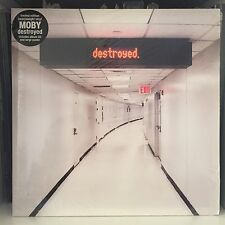 MOBY - DESTROYED - UK 2011 DELUXE 180g SEALED Vinyl 2 x LP +  CD + Large Poster
