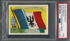 PSA 7 - 1961 Fleer Pirates Bold - Flags of the Spanish Main - Guatemala