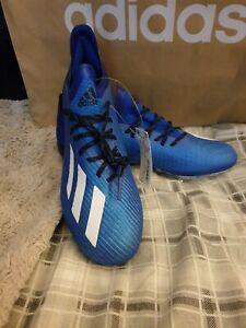 Adidas X 19.1 SG Blue Size UK 8.5