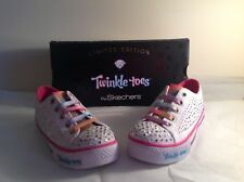 48a29a8a01853 NIB Skechers Twinkle Toes Limited Edition Girls Size 12