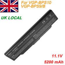 6 Cell Laptop Battery for Sony VGP-BPS9/B VGP-BPS9A/B VGP-BPS9B VGP-BPS10