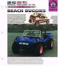 vintage DUNE BUGGY Brochure : MEYERS MANX,TURISTA,EMPI,OPUS HRF,STIMSON,PELLAND,