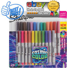 Sharpie Permanent Markers Ultra Fine Point Cosmic Color Limited Edition, 24 coun