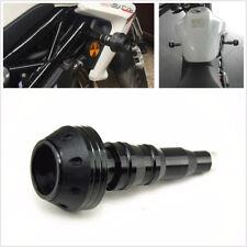 Bicycle Motorcycle CNC Exhaust Frame Slider Falling Protector Anti-Crash Cap Kit