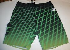 #8195 TIME TO SURF! HANG TEN BOARD SHORTS MEN'S 38 GOOD USED
