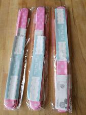 3 x Pompom 36cm groß Rosa Dots Dekoration Papierball Auffalten Papier Pom