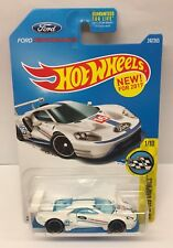 Hot Wheels 2016 Ford GT Race Car 1/10 HW Speed Graphics L Case Die Cast