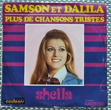 45 tours vinyle Sheila - Samson et Dalila