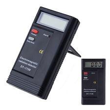 KE_ Electromagnetic Radiation Tester Detector EMF Meter Dosimeter Digital Blue