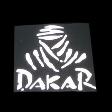 1x Universal Creative White DAKAR Off-road Reflective&Waterproof Car Stickers