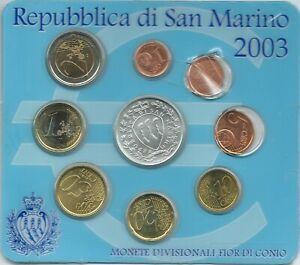 ST MARIN 2003 : Pièce de 20 cents