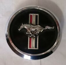 Ford Mustang Black Pony Logo 2005 - 2014 OEM 18 Inch Wheel Center Cap 3647