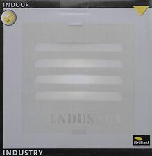 BRILLIANT INDUSTRY Wandleuchte Wandlampe Deckenleuchte Metall/Grau E27 25 cm