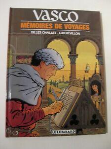 Vasco 16 Chaillet  Ed. Le Lombard  EO 1998 TTBE