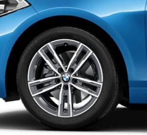 "Original BMW Sommerradsatz Doppelspeiche 550M 17"" 1er & 2er F Reihe UPE: 2.799€"