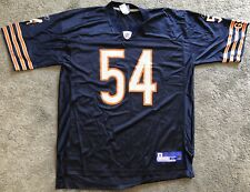 Brian Urlacher Chicago Bears Authentic Reebok Field Jersey XL On Field Mens NFL