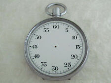 Antique Made in Swiss Military 1914-1918 German Army WWI Stopwatch for Repairing