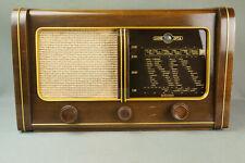 LOEWE OPTA GLOBUS schönes altes Röhrenradio 1950-51